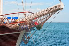 Wooden Yacht Royalty Free Stock Photos
