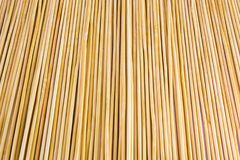 Wooden yellow bamboo mat texture abstract background. Stock Photos