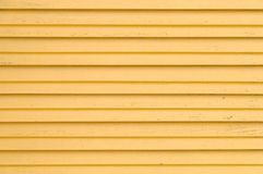 Wooden yellow blinds Stock Photography