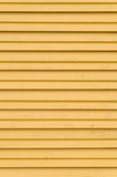 Wooden yellow blinds Royalty Free Stock Photo