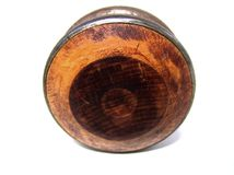 Wooden yo-yo Stock Image