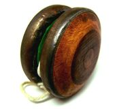 Wooden Yo-yo Stock Photography