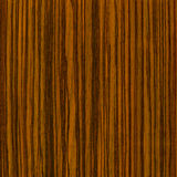 Wooden Zebrano Negro texture to background Stock Photography