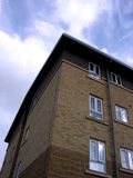 Woodford Building 1. This is a residential Building in Woodford Avenue stock photography