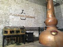 Woodford Reserve 1. Woodford Reserve Distillery, Kentucky stock image