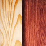 Woodgrain samples Stock Images