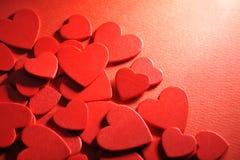 Woodhearts Imagem de Stock