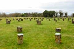Woodhenge, Αγγλία Στοκ Εικόνες