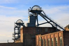 Woodhorn Colliery Museum Royalty Free Stock Photos