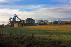 Woodhorn Colliery Museum Stock Image