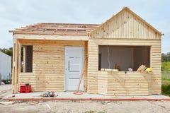 Woodhouse στην κατασκευή Στοκ εικόνες με δικαίωμα ελεύθερης χρήσης