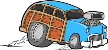 woodie вектора автомобиля иллюстрация вектора