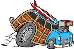 Woodie Car Vector Stock Photos