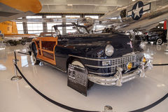 Woodie 1946 Chrysler Town and Country Convertible Stock Photos