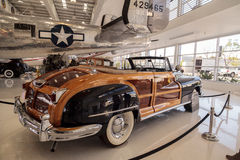 Woodie 1946 Chrysler Town and Country Convertible Royalty Free Stock Image
