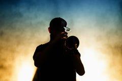 Woodkid (bande) exécute au festival de sonar image libre de droits