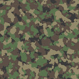 Woodland camo pattern Stock Image