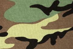Woodland camouflage background Royalty Free Stock Photo