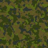 Woodland Camouflage. Seamless Tileable Texture. Stock Photos
