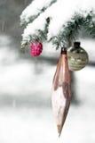 Woodland Christmas stock image
