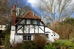 Woodland Cottage Stock Photo