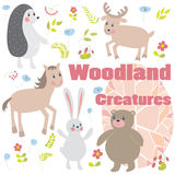 Woodland creatures Stock Photography