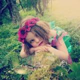 Woodland fairy Royalty Free Stock Photos