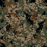 Woodland Flectarn Camouflage seamless patterns. Classic Woodland Flectarn Camouflage seamless patterns. Vector Illustration Royalty Free Stock Image