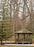Woodland Gazebo Royalty Free Stock Photo