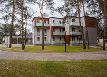 Woodland hotel - Apartments in forest Stock Images
