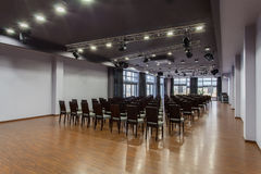 Woodland hotel - Auditorium hall Stock Images