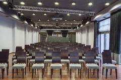 Woodland hotel - Conference hall Royalty Free Stock Image