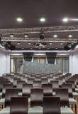 Woodland hotel - Conference hall Royalty Free Stock Photo