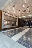 Woodland hotel - entrance hall Stock Photo