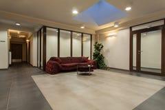 Woodland hotel - Hotel hall Stock Photo