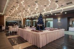 Woodland hotel - Hotel restaurant Stock Image