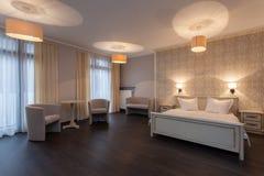 Woodland hotel - Hotel room Stock Images