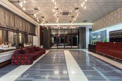 Woodland hotel - main entrance Stock Images