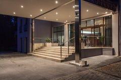 Woodland hotel - entrance Stock Images