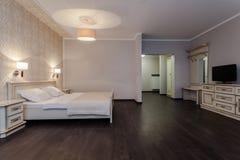Woodland hotel - Modern bedroom Stock Photography