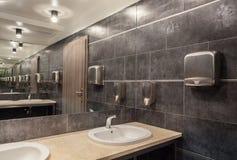 Woodland hotel - bathroom Royalty Free Stock Image