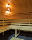 Woodland hotel - Sauna Royalty Free Stock Photography