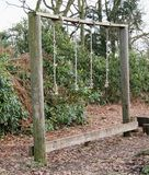 Woodland Playground. Stock Photo