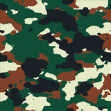 Woodland seamless camo pattern. Textures Royalty Free Stock Photo