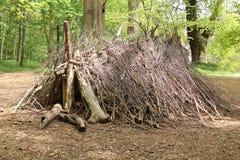 Woodland Shelter. Stock Photography