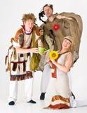 Woodland spirits characters