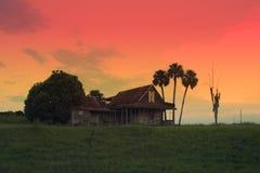 Woodlea hus Tavares Florida fotografering för bildbyråer