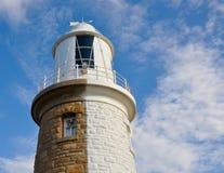 Woodman Point Lighthouse: Half-n-Half stock photo