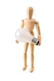 woodmodel светильника Стоковые Фото