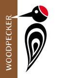 Woodpecker icon Royalty Free Stock Photo